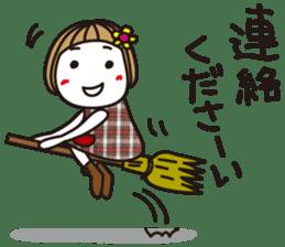 Bangs short girl vol.10 sticker #8978879