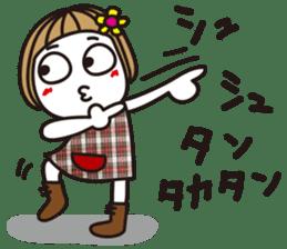 Bangs short girl vol.10 sticker #8978881