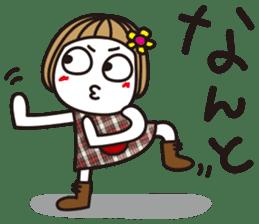 Bangs short girl vol.10 sticker #8978882