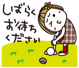 Bangs short girl vol.10 sticker #8978883
