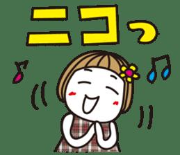 Bangs short girl vol.10 sticker #8978884