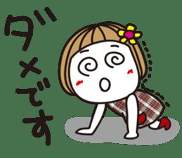 Bangs short girl vol.10 sticker #8978885
