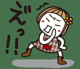 Bangs short girl vol.10 sticker #8978886