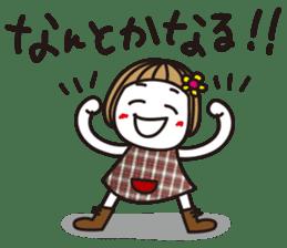 Bangs short girl vol.10 sticker #8978889