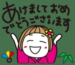 Bangs short girl vol.10 sticker #8978894
