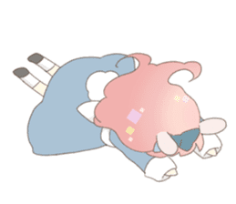 Rabbit ear girl Rosy sticker #8979367