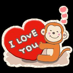2016 cute animals stickers