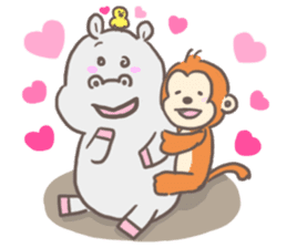 2016 cute animals stickers sticker #8988270