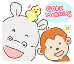 2016 cute animals stickers sticker #8988292