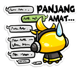 Tako: Daily Chat Edition (ID) sticker #8990712