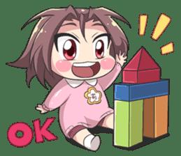 Lily & Marigold (Kindergarten) sticker #8991098