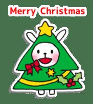 Red Muffler Rabbit sticker #8991490