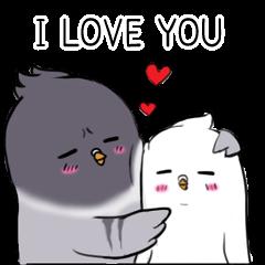 Pigeon Love love (ENG)
