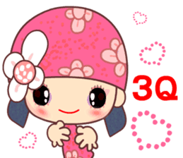 I love Flower Fairy 8 sticker #8996179