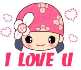 I love Flower Fairy 8 sticker #8996183