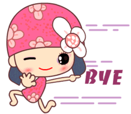 I love Flower Fairy 8 sticker #8996188