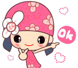 I love Flower Fairy 8 sticker #8996193