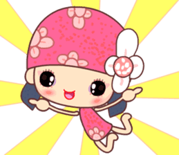 I love Flower Fairy 8 sticker #8996206