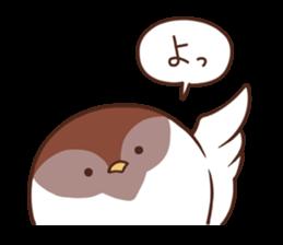 Suzume-san and Enaga-chan 2 sticker #9005776