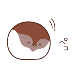 Suzume-san and Enaga-chan 2 sticker #9005781