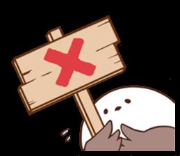 Suzume-san and Enaga-chan 2 sticker #9005786