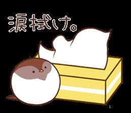 Suzume-san and Enaga-chan 2 sticker #9005787