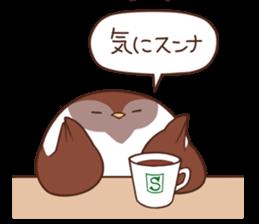 Suzume-san and Enaga-chan 2 sticker #9005790