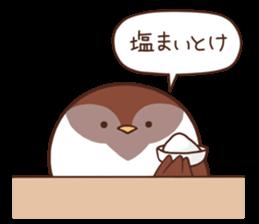 Suzume-san and Enaga-chan 2 sticker #9005791