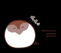 Suzume-san and Enaga-chan 2 sticker #9005793