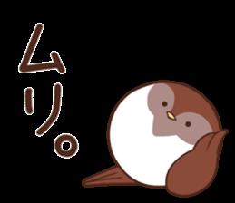 Suzume-san and Enaga-chan 2 sticker #9005797