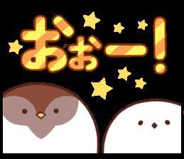 Suzume-san and Enaga-chan 2 sticker #9005800
