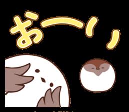 Suzume-san and Enaga-chan 2 sticker #9005805