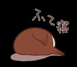 Suzume-san and Enaga-chan 2 sticker #9005807