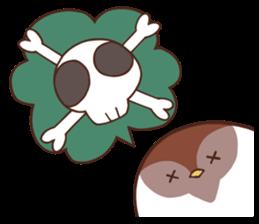 Suzume-san and Enaga-chan 2 sticker #9005809
