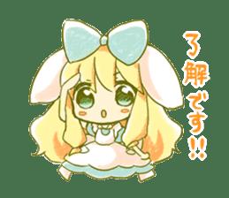 Picture book of Alice 2 sticker #9010016