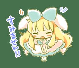 Picture book of Alice 2 sticker #9010020