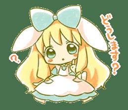 Picture book of Alice 2 sticker #9010024