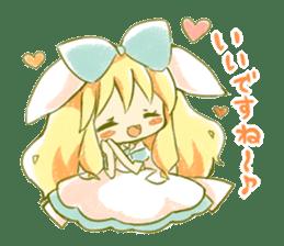 Picture book of Alice 2 sticker #9010025