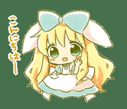 Picture book of Alice 2 sticker #9010033