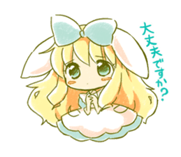Picture book of Alice 2 sticker #9010036