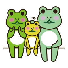 Frog Yuki and familes