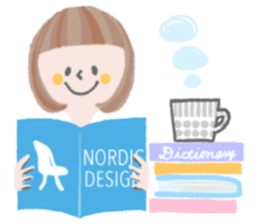 Lovely Nordic Stickers sticker #9019554