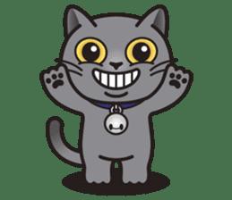 MIA the British Shorthair Cat sticker #9022474