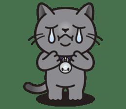 MIA the British Shorthair Cat sticker #9022476