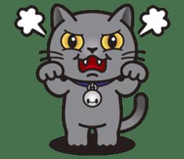 MIA the British Shorthair Cat sticker #9022479