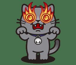 MIA the British Shorthair Cat sticker #9022483