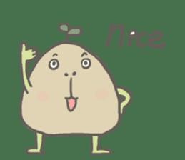 Potato Bro sticker #9022998