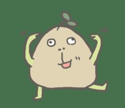 Potato Bro sticker #9023007