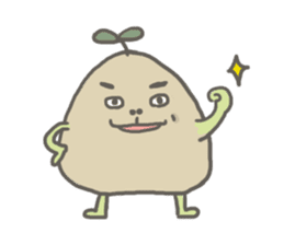 Potato Bro sticker #9023016