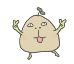 Potato Bro sticker #9023017